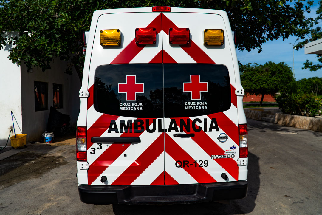 Red Cross Ambulance, Mexico