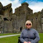 My Mother's Day Present: My Mom at the Rock of Cashel, Ireland