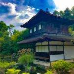 The Silver Pavilion, a Zen temple in the Sakyo ward of Kyoto, Japan.