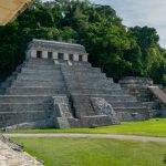 Things to do in Palenque. The Temple of Inscriptions at the Mayan ruins of Palenque. This pyramid served as the burial chamber for Pakal, the leader of the Mayan people.