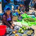 The Chamula Market in Chiapas. I discreetly snapped this photo of these vendors as the locals tend to not like their picture taken.