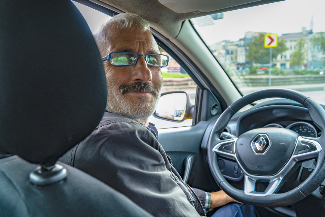 The World Loves Americans. The taxi driver in Istanbul who obsessively used his cell phone while driving. However, once he discovered we were Americans, his face lit up and he opened up.