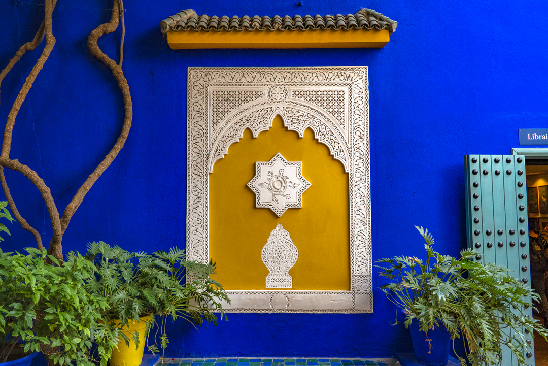"A Tour in Marrakech Gone Awry. It took French painter Jacques Majorelle (1886-1962) forty years of passion and dedication to create this enchanting garden in the heart of the ""Ochre City"" called the Majorelle Garden."