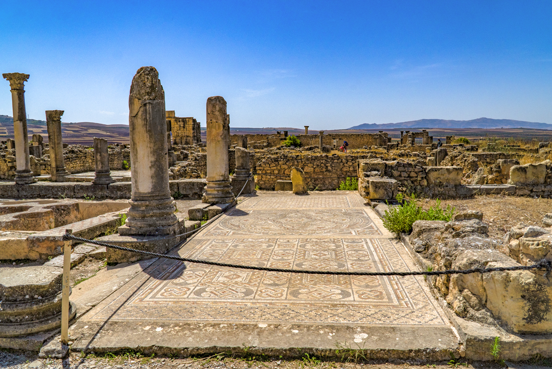 Nine Photos of Volubilis. Volubilis had been abandoned by the 11th century after Fes became the real main of power.