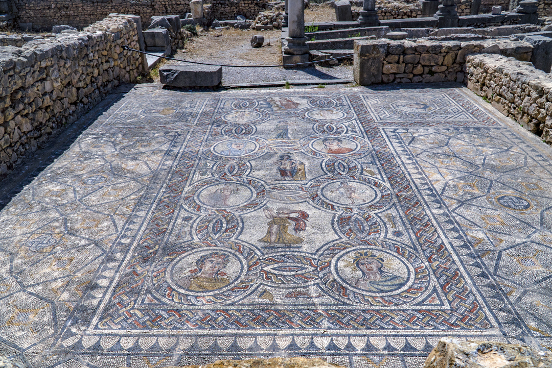 Nine Photos of Volubilis. Now a days Volubilis is recognized as a UNESCO World Heritage site in part for being so well-preserved.