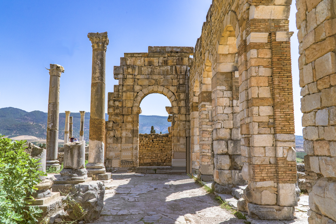 Eight Photos of Volubilis: Volubilis's prosperity stemmed mostly from olive growing.