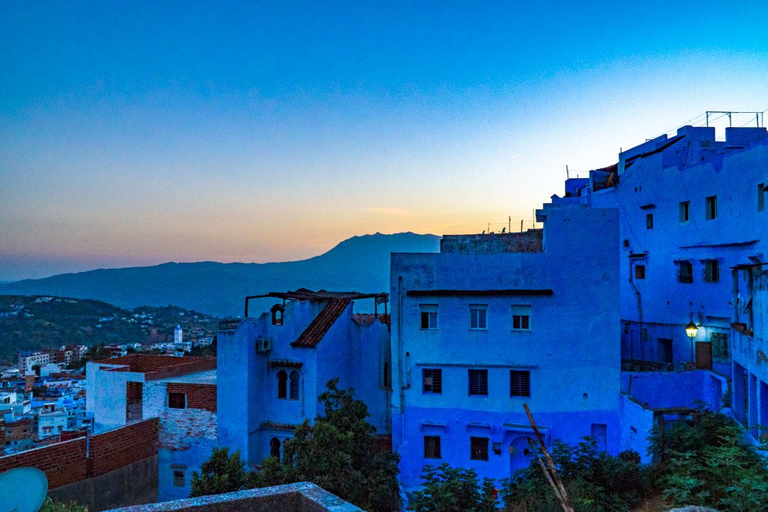 My Top Travel Tips for Morocco. Try to arrive at Chefchaouen during the day light. We left the city at night and traveled fifteen minutes on poorly lit mountain roads in search of our hotel.