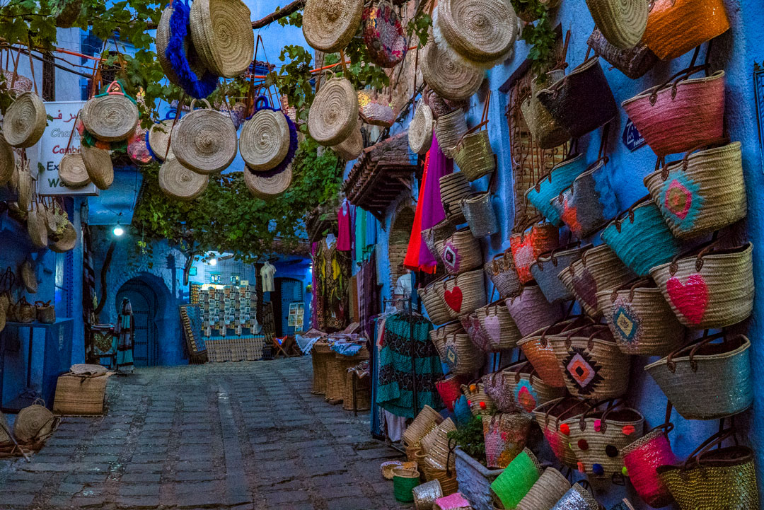 My Top Travel Tips for Morocco. The medina in Chefchaouen lies on a hill so it's probably the most vertical medina i visited.