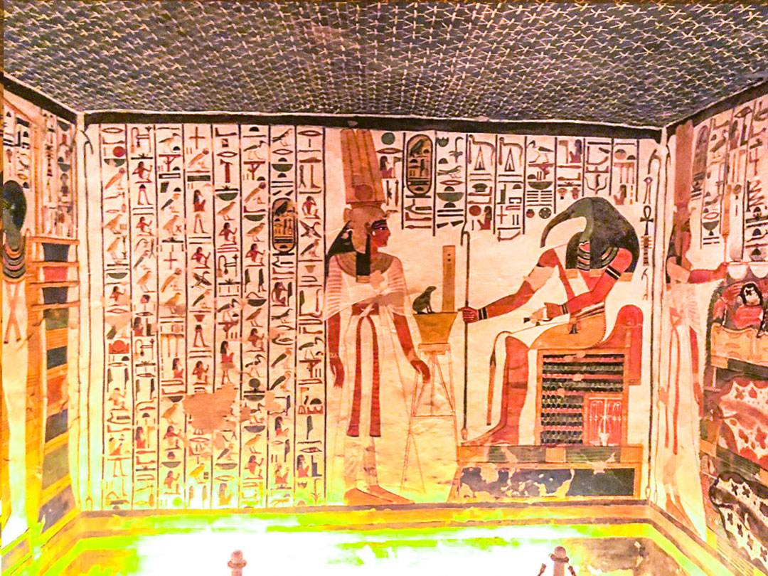 Photos of Nefertari's Tomb: Capturing Over Three Thousand Years of Egyptian History