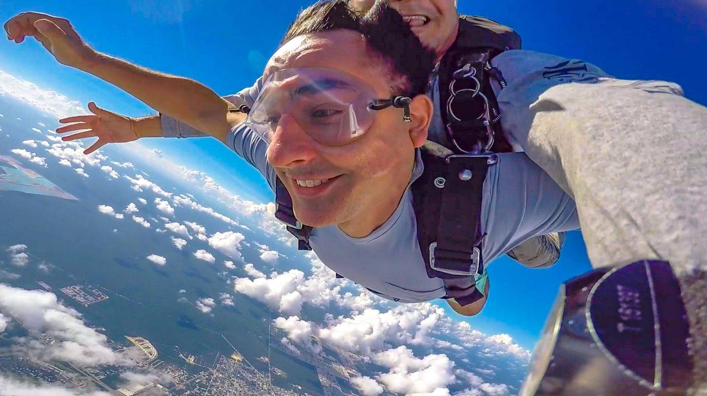 Playa del Carmen Skydiving. For my 41st birthday, I treated myself to my first time jumping out of a plane - ever!
