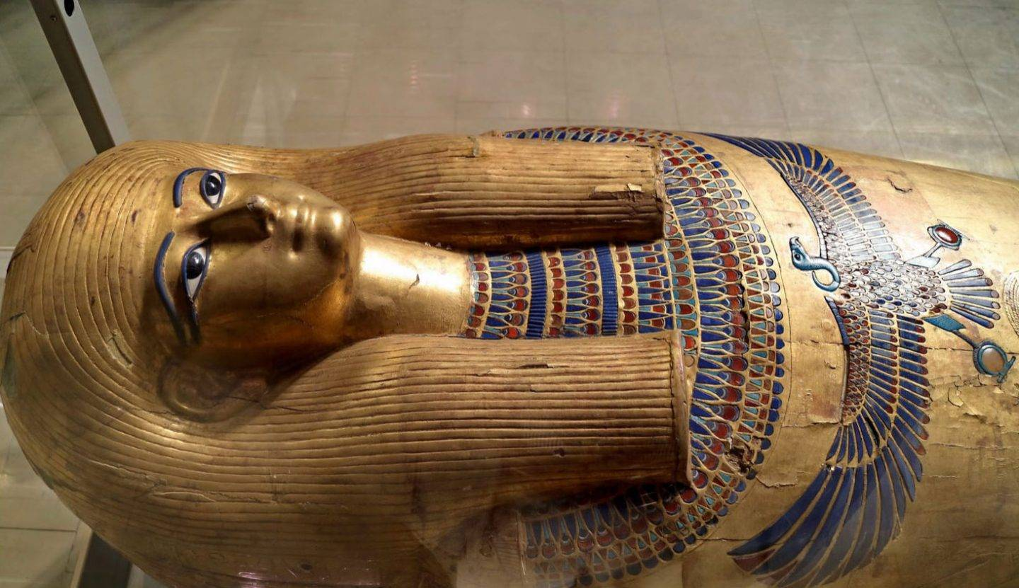 The coffin of Yuya dates back to the 18th century BC.