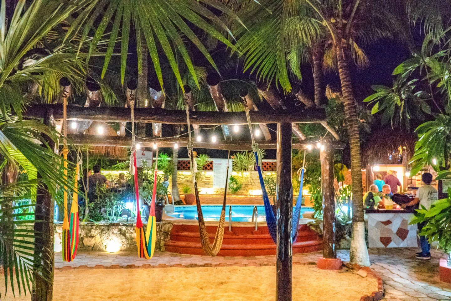 Coco Cabanas - One of Playa del Carmen's hidden gems.