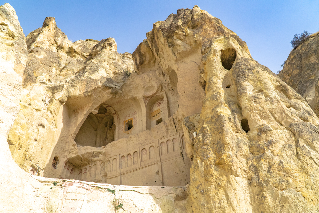 There are 11 refectories in the Goreme Open Air Museum, all dating back to the 10th and 11 centuries.