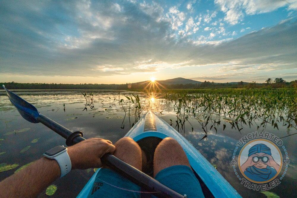 Kayaking was originally developed by the Inuits, formerly known as Eskimos, in the northern arctic regions. They used driftwood or whale skeletons covered with animal hides to stealthily hunt prey.